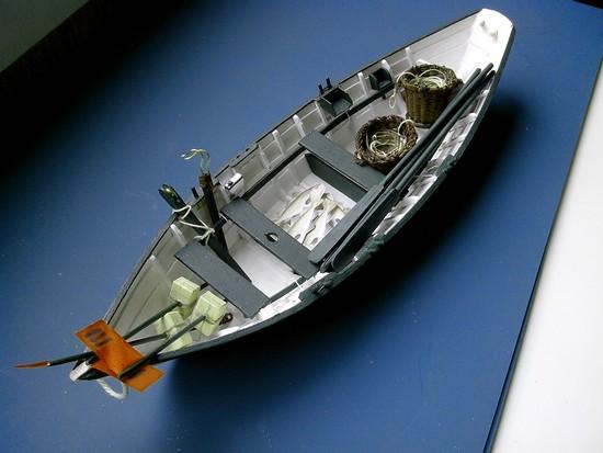 Modélisme naval - Un Doris de 6 00m