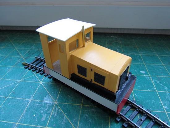 Modélisme ferroviaire - Locotracteur Poldi