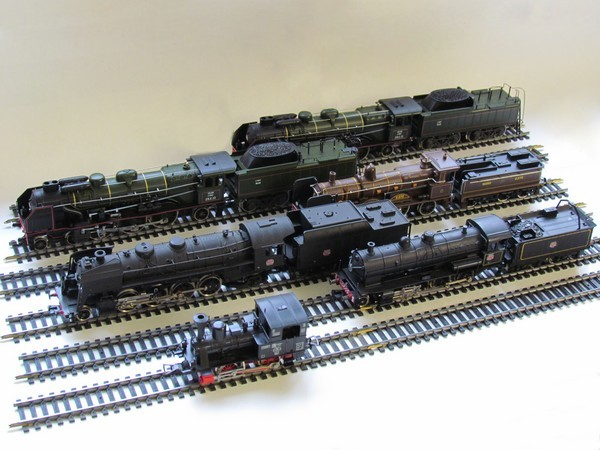 Modélisme ferroviaire - Traction vapeur